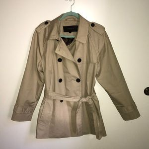 Classic Coach Twill Trench Coat